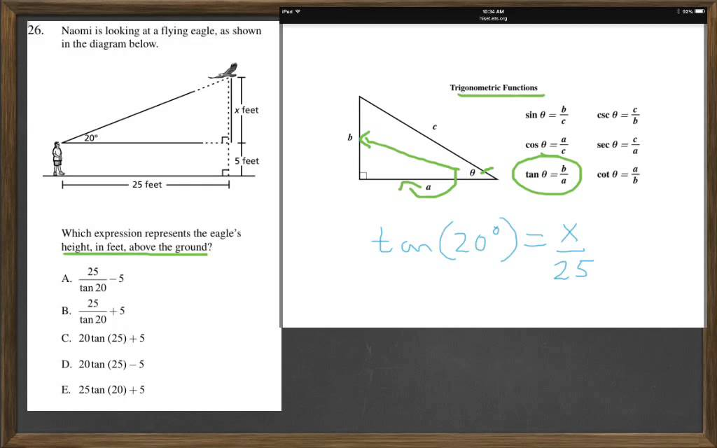 HiSET Math Free Practice Test 2 #26 - YouTube