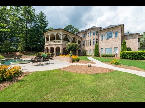 Magnificent Luxury Estate on Beautiful Lake Spivey - 2929 Lake Park Drive