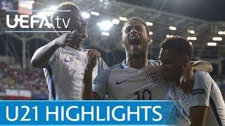 Under-21 highlights: England v Poland
