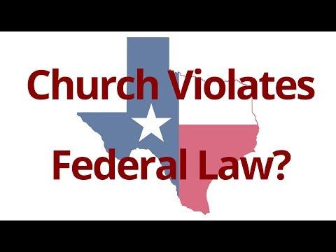 The Vortex — Church Violates Federal Law?