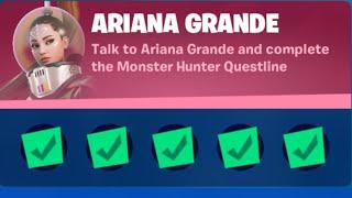 Ariana Grande All Quęst - Fortnite