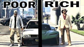 Rich VS Poor Car Guys in GTA Online Ep 4