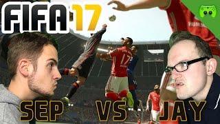 SEP vs JAY 🎮 FIFA 17 Battle #1