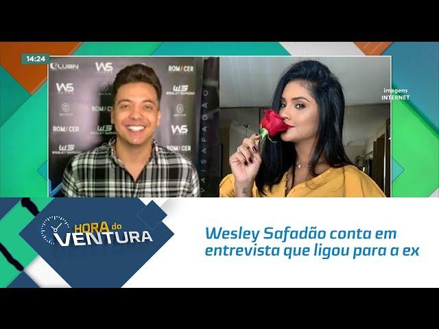 Wesley Safadão conta em entrevista que ligou para a ex-esposa e pediu perdão
