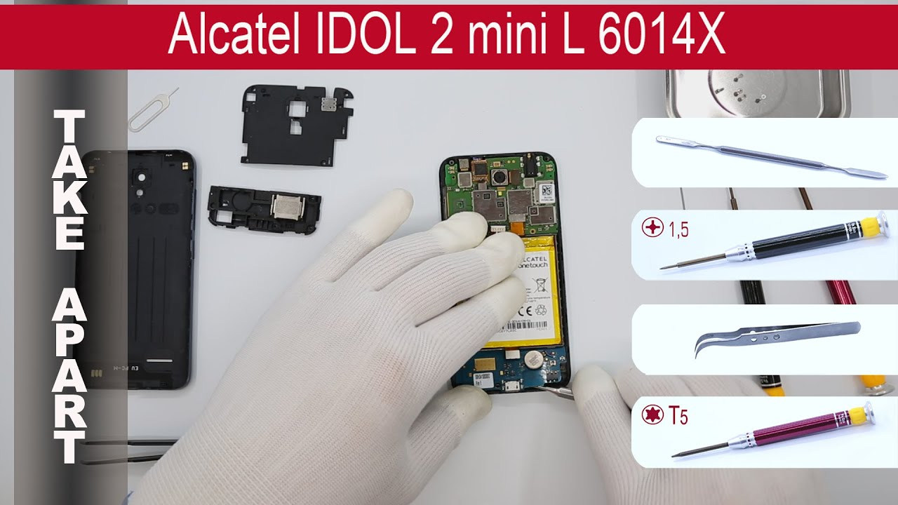 how to get folders on alcatel idol mini