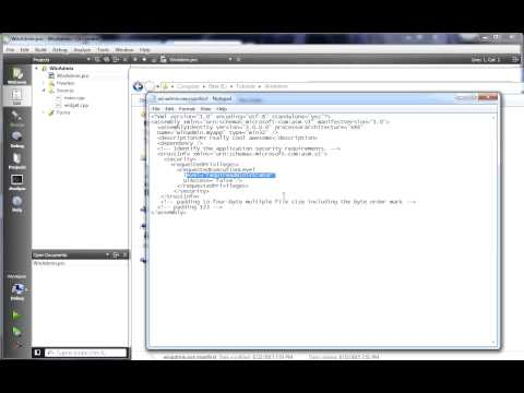 C++ Qt 132 - Windows Application Icon and UAC Admin Rights