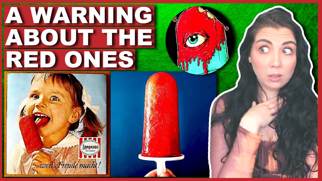 You'll NEVER Eat A Red Popsicle Again...