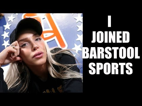 I Officially Joined Barstool Sports