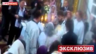 Смотреть видео Филипп Киркоров окрестил дочь в Москве онлайн
