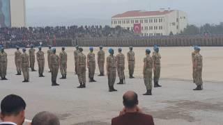 İzmir foça komando yemin töreni