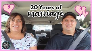 20 Years of Marriage ♥♥ How'd we do it & other Relationship Questions!
