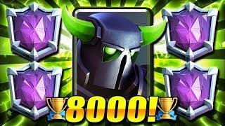 #1 BEST PEKKA DECK for 2020 META!! 8000+ TROPHY ULTIMATE CHAMPION!!