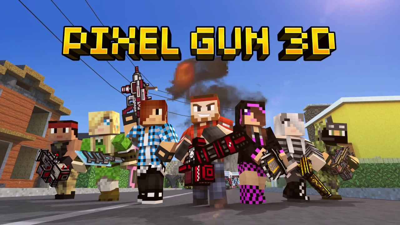 Pixel Gun 3D Official trailer 2017 - YouTube