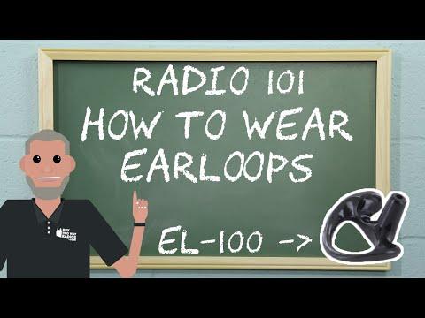 Radio 101 - How To Wear Earloops