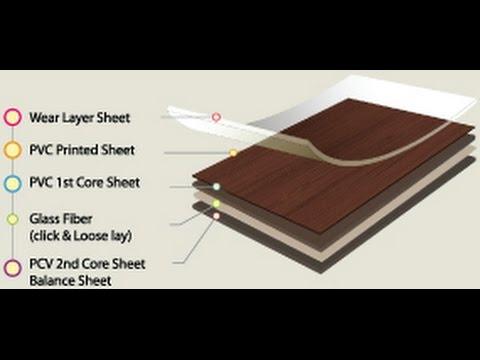 LVT click flooring - วิธีการติดตั้งพื้นไวนิล กระเบื้องยางลายไม้ ที่ไม่ต้องใช้กาว