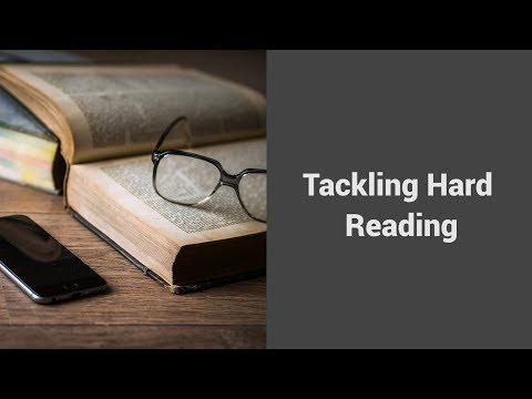 MOOC USSV101x | Veteran Voices: Hard Reading, Good Writing | Tackling Hard Reading