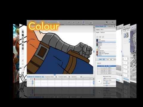 Toon Boom Studio 8 Intro Video HD