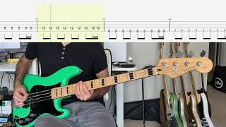 Royal Blood - Oblivion Bass Cover (With Tab)