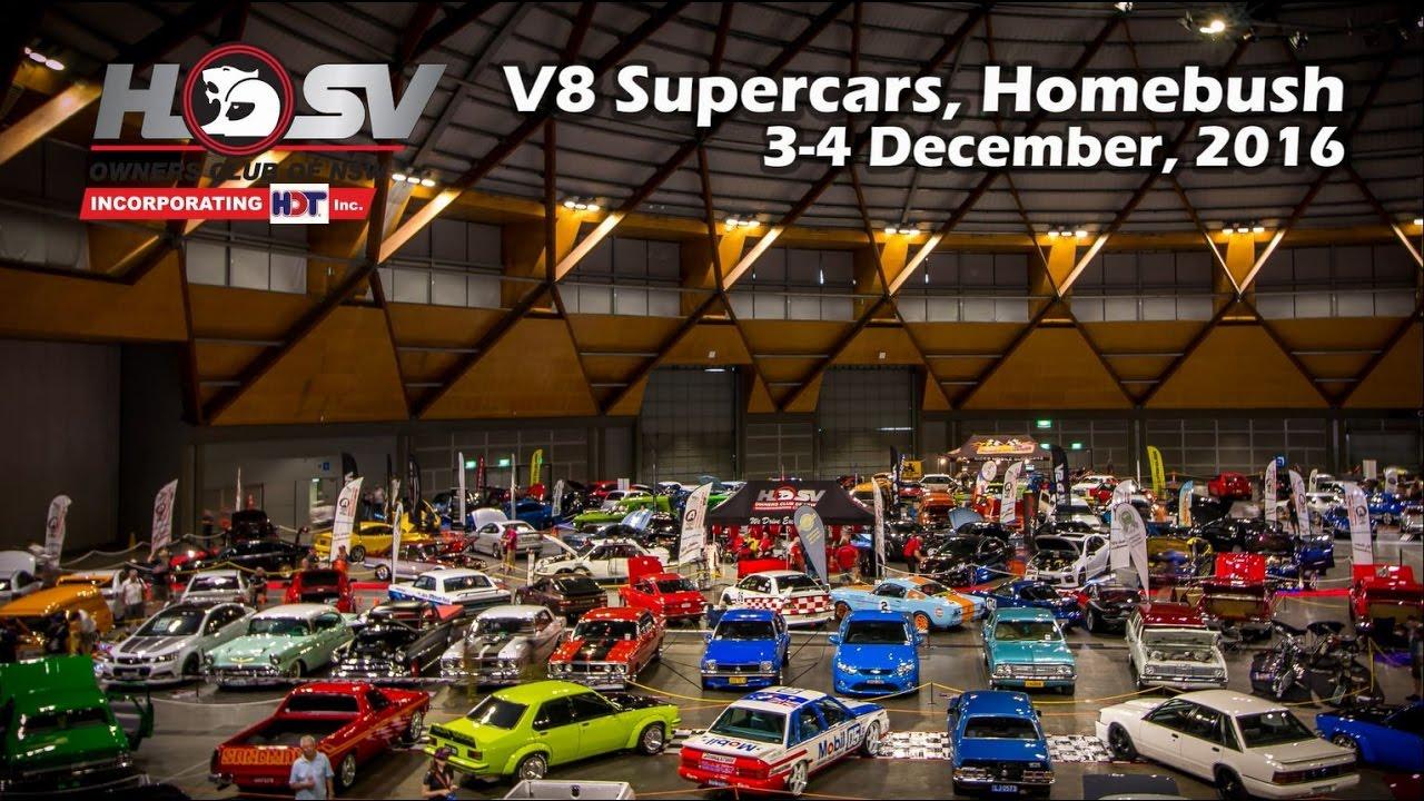 HSV Owners Club Of NSW V8 Supercars Homebush 2016