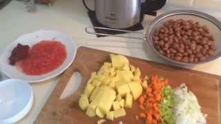видео Вкусные вегетарианские рецепты Болгарский суп