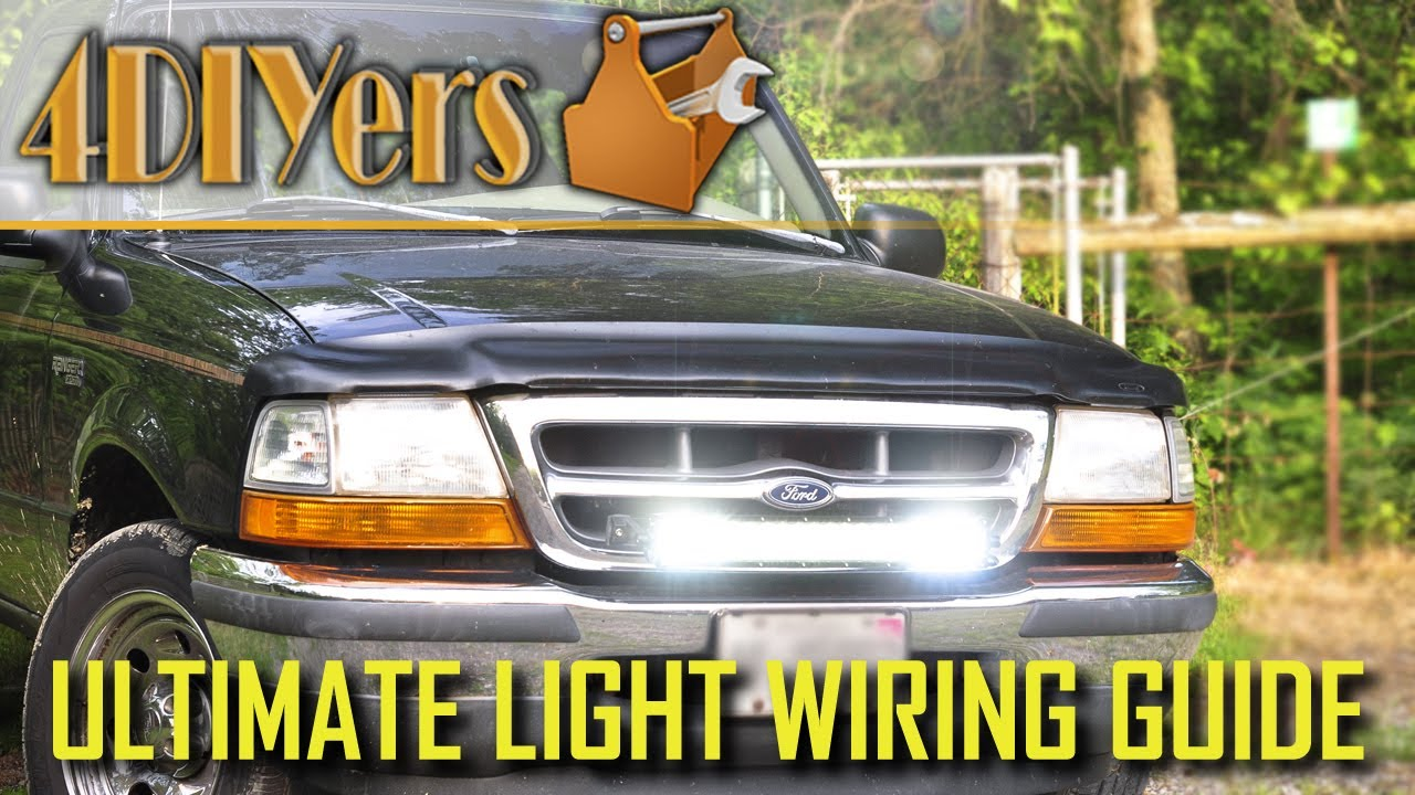 led light bar relay wiring diagram 1984 ford e350 how to properly wire an the ultimate guide youtube