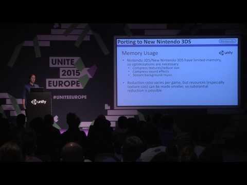 Unity for New Nintendo 3DS - Unite Europe 2015