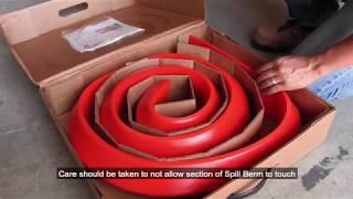 Ultra-Spill Berm Video