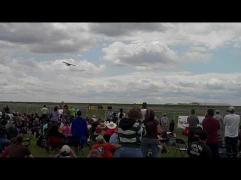 Stolen Plane at Tulsa Airshow!!