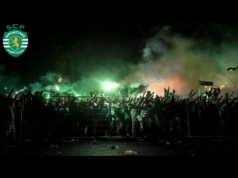Sporting CP Fans Celebrate Winning the Portuguese League for the First Time in 19 Years