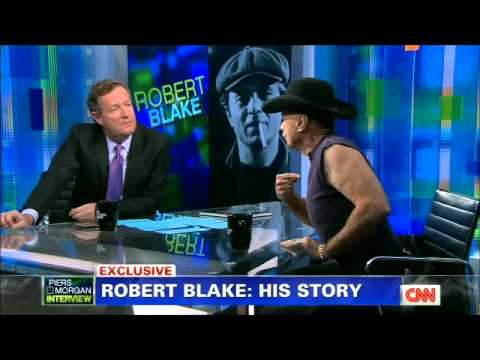 Robert Blake goes crazy on Piers Morgan 2013