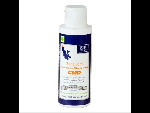 Importance of Minerals and  Anderson's CMD- A Complete Mineral Supplement !