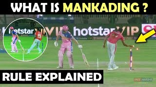 IPL 2019: Ashwin Butler Run out | What is Mankading in Cricket ? | Mankading Rule Explained