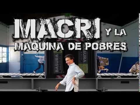 El Destape | Macri y la máquina de pobres. Domingo 21 hs