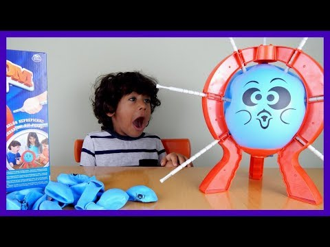 BOOM BOOM BALLOON Family Fun Balloon Pop Challenge for Kids Funny Videos