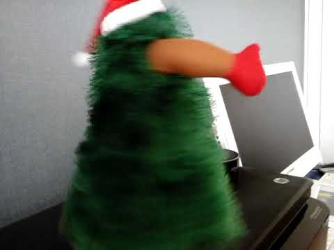 39b14ebf97f83 Musical Dancing Christmas Tree - YouTube