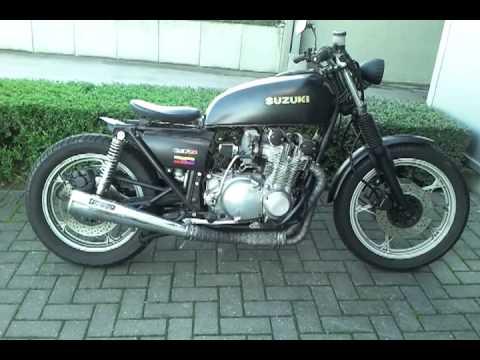 Suzuki Gs 750cc 1977 Bobber Youtube