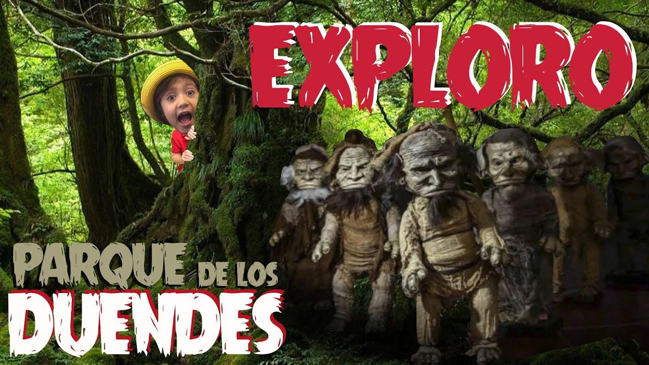 Exploro el Parque de los DUENDES ABANDONADO