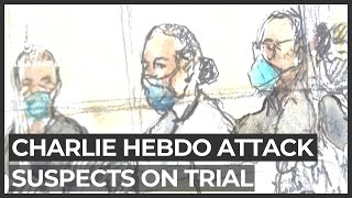 Suspected accomplices of Charlie Hebdo attackers go on trial