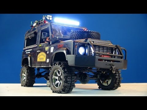 RC ADVENTURES - ARB Winch Bumper Upgrade - RC4WD Gelande 2 - Land Rover