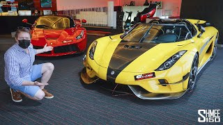 SUPERCAR SHOPPING at the Best Showrooms in DUBAI!