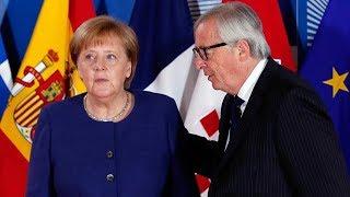 EU leaders discuss migrant crisis in Brussels