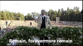 lūgšana the prayer english subtitles translation latvian song dance festival 2013
