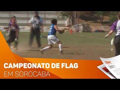 Campeonato de Flag reúne atletas em Sorocaba - TV SOROCABA/SBT