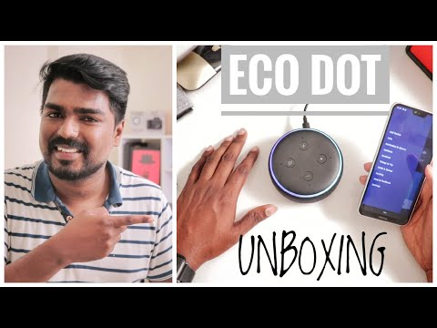 ECO DOT 3rd Generation : Unboxing and Review #umnt #Alexa #Amazonalexa