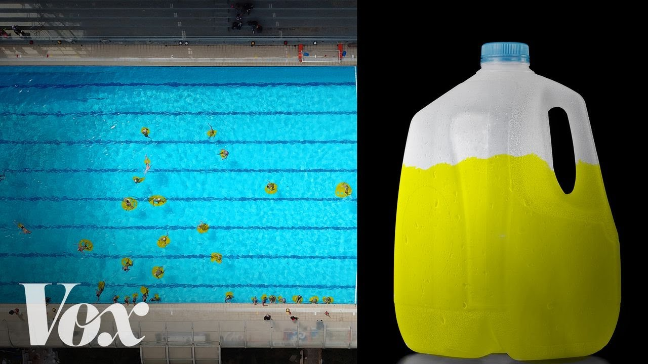 Stop peeing in the pool. Chlorine doesn't work like you think.