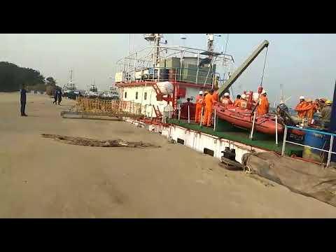 Port visit survey vessel