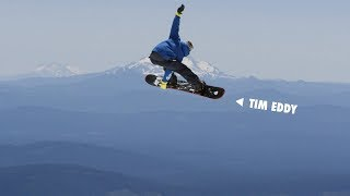 How to do an Extreme Beef grab with Tim Eddy   TransWorld SNOWboarding Grab Directory