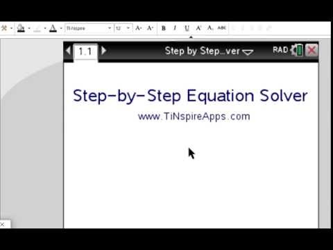 ▷Step by Step Equation Solver - Step by Step ✅ - with the