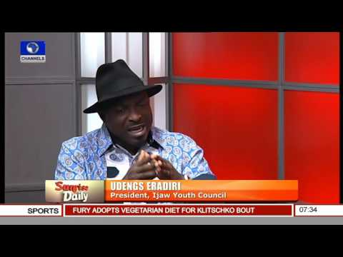 Military Approach Will Not Resolve Niger Delta Militancy - Udengs Eradiri Pt 1
