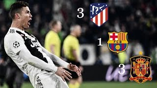 The 7 Wonder Matches of Cristiano Ronaldo HD ●18 Crucial Goals